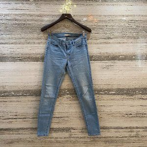 LEVI'S Jeans Super Skinny Light Blue Size 28